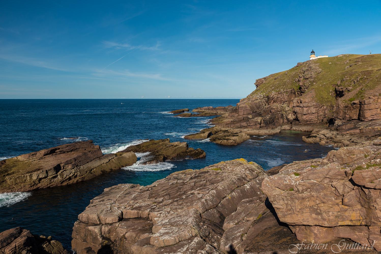Stoer Lighthouse, Scottish Highlands by Fabien Guittard