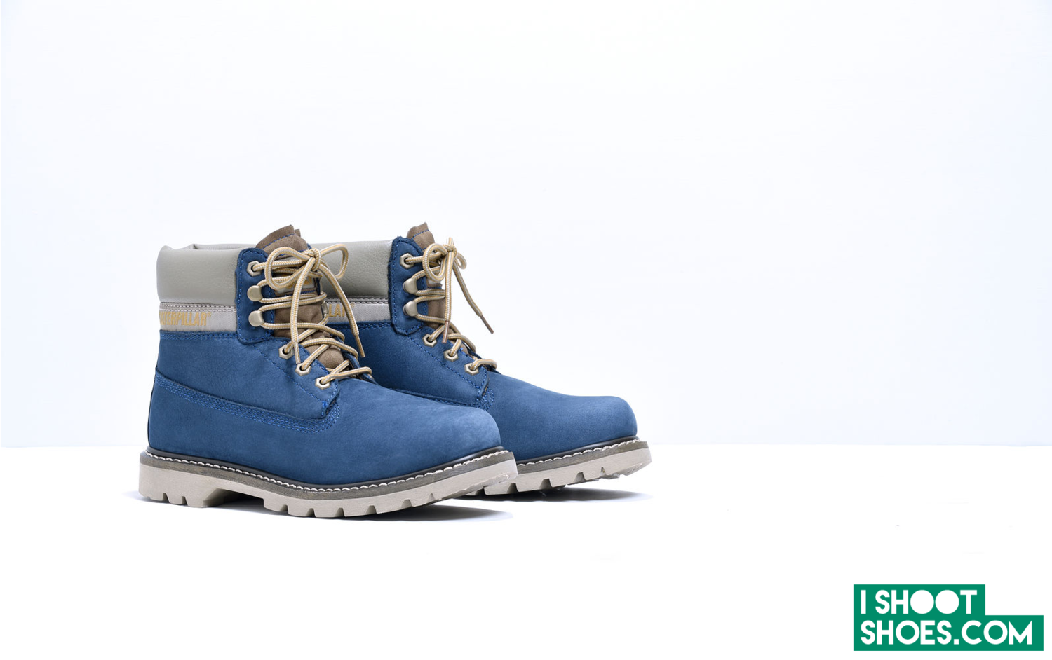 Blue shade shoes by Will Fahy