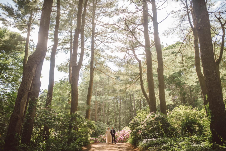 B&G In the woods by Eric Brushett