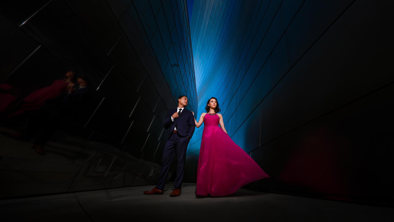 The James Bond pose by Matthew Reiter