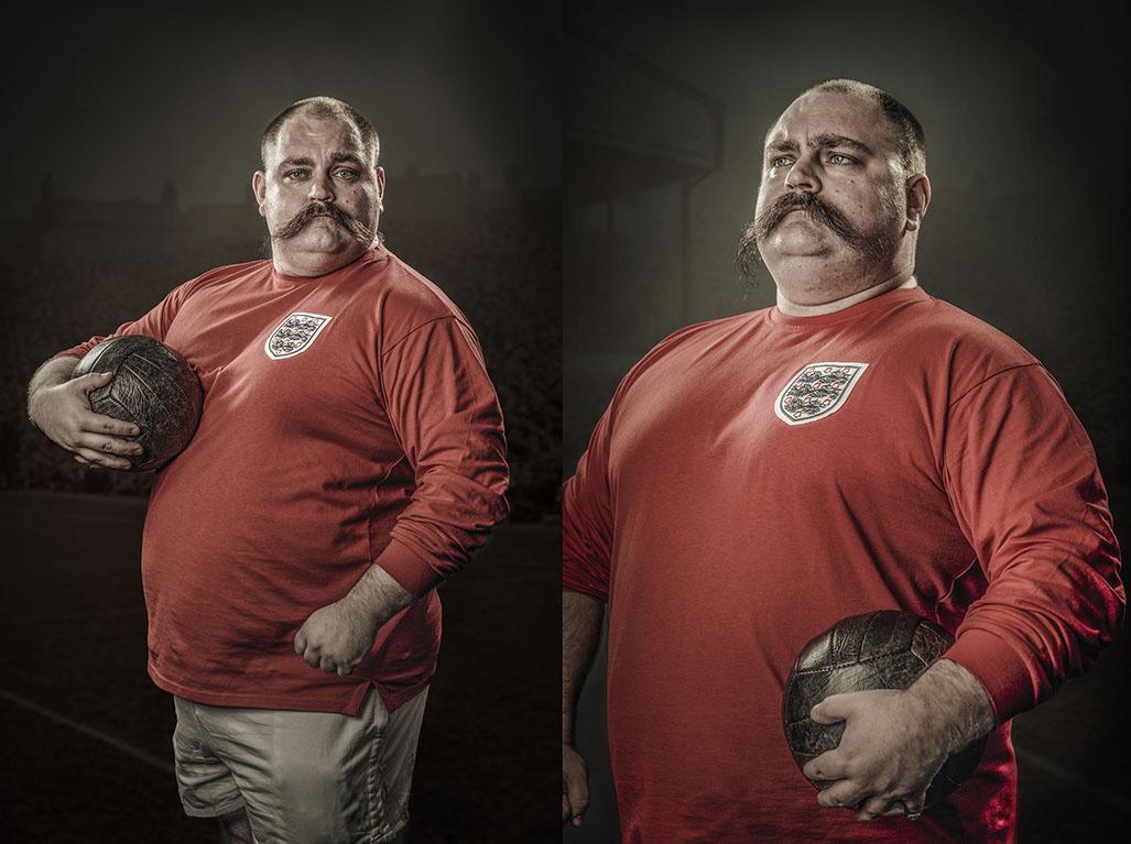 Vintage Footballer by Chris Doyle