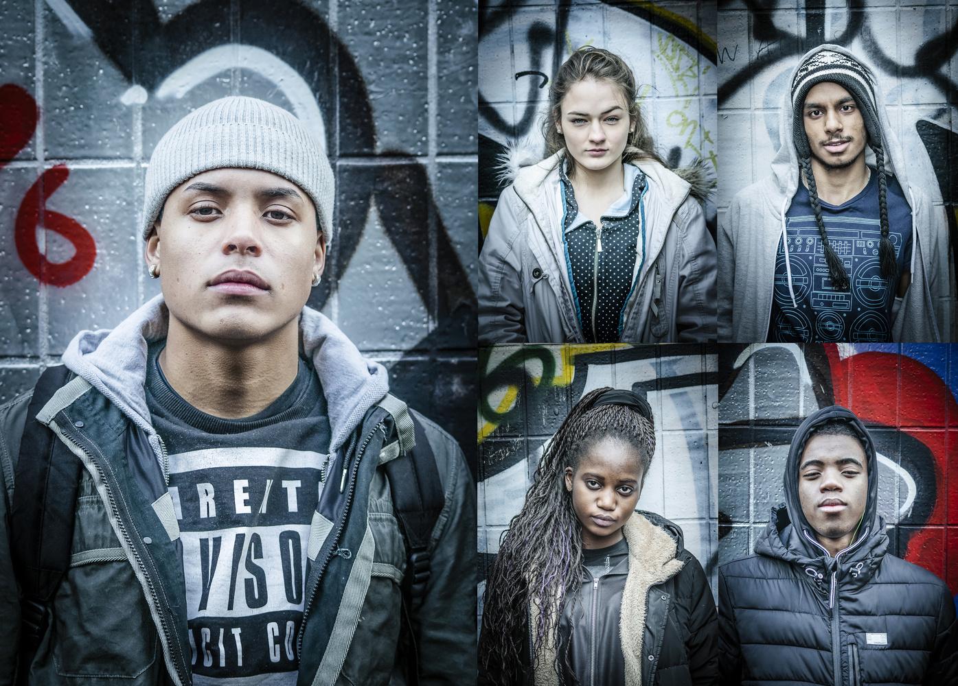 Urban portraits by Chris Doyle