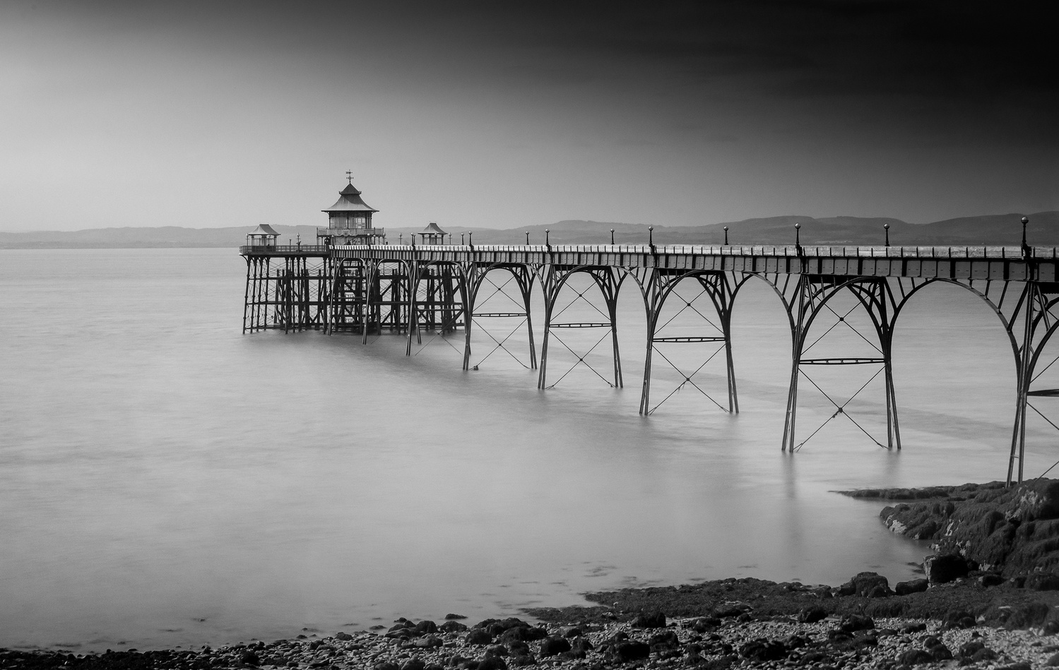 Clevedon Pier by Chris Doyle