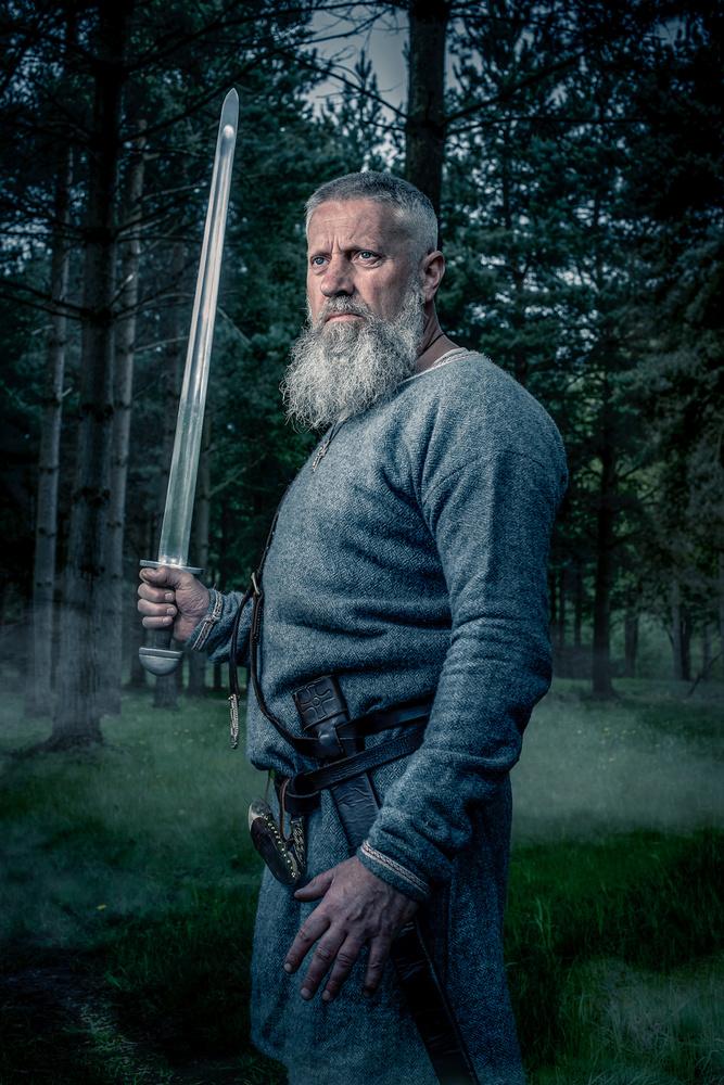 Viking portrait by Chris Doyle