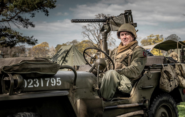 WW2 Jeep by Chris Doyle