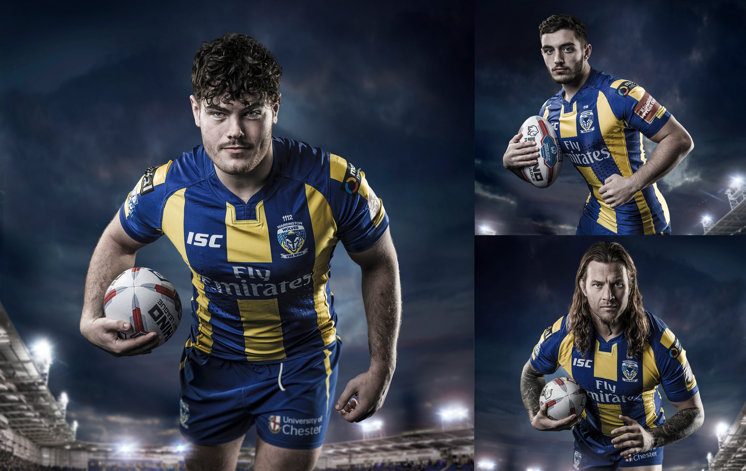 Rugby portraits by Chris Doyle