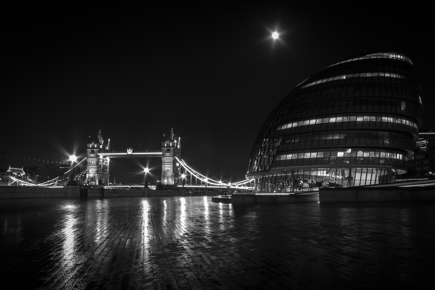 City Hall Reflections by Sam Hood