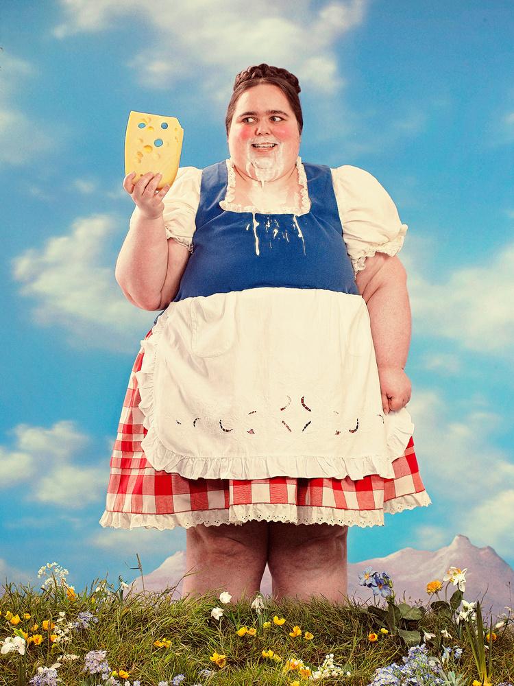 Hungry Heidi by Joe Giacomet