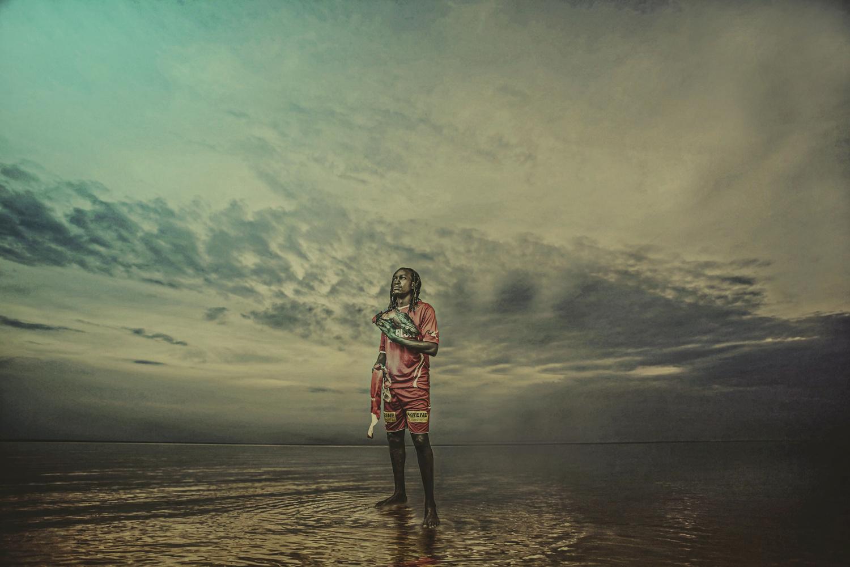 Mwafrika Shujaa - John Bosco by Isaiah Maghanga