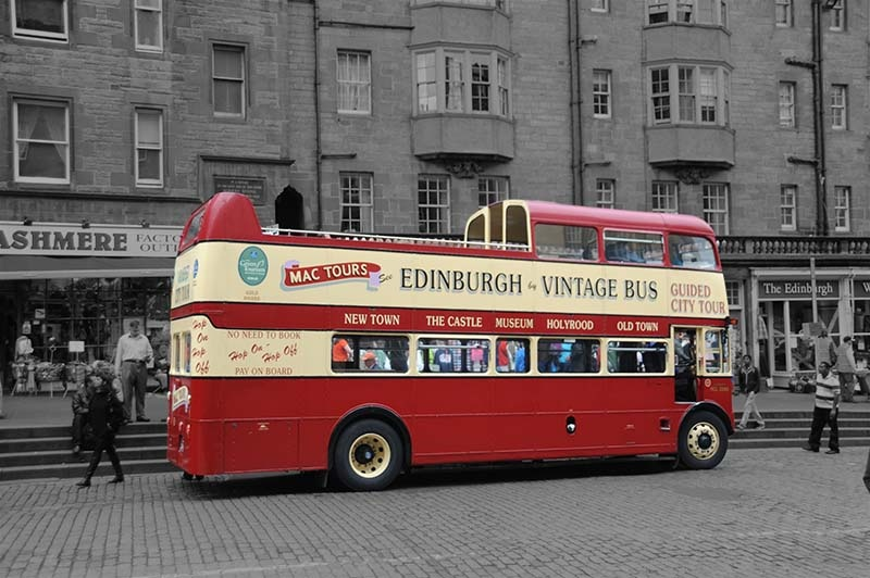 Edinburgh, Scottland by John McCracken