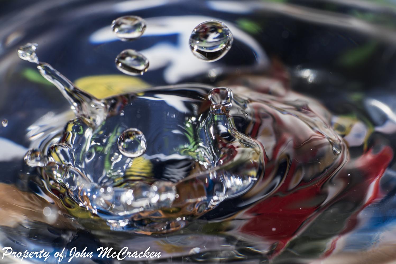 droplets frozen in Time by John McCracken