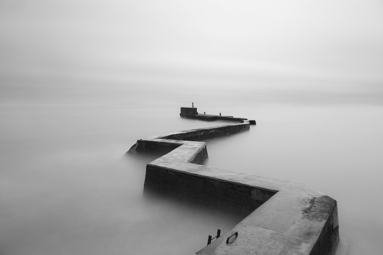 Zig Zag Pier by Ross Nicholson