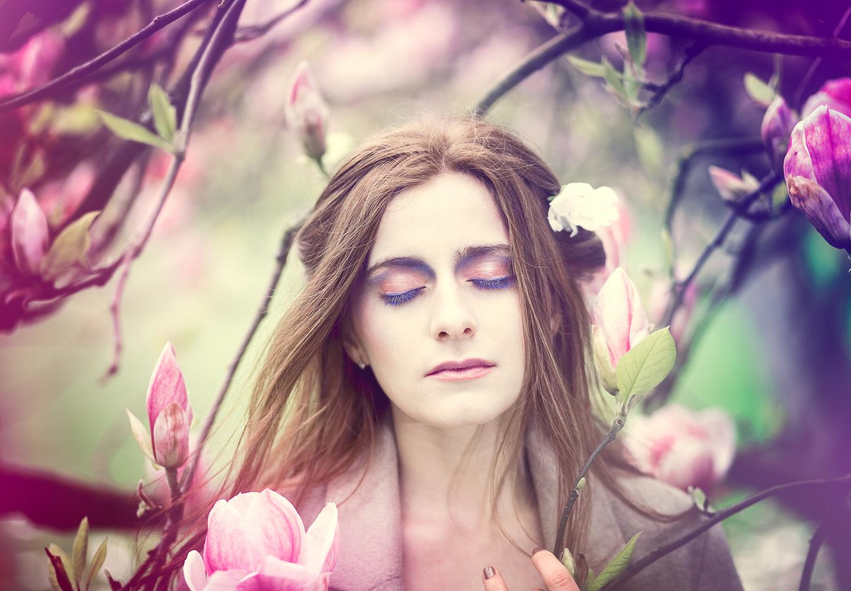 Rebecca's magnolia by Taz Rahman