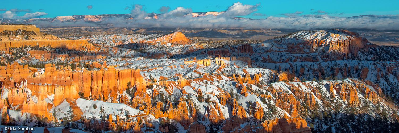 Sunset Point, Bryce Canyon National Park, Utah by Ida Gamban