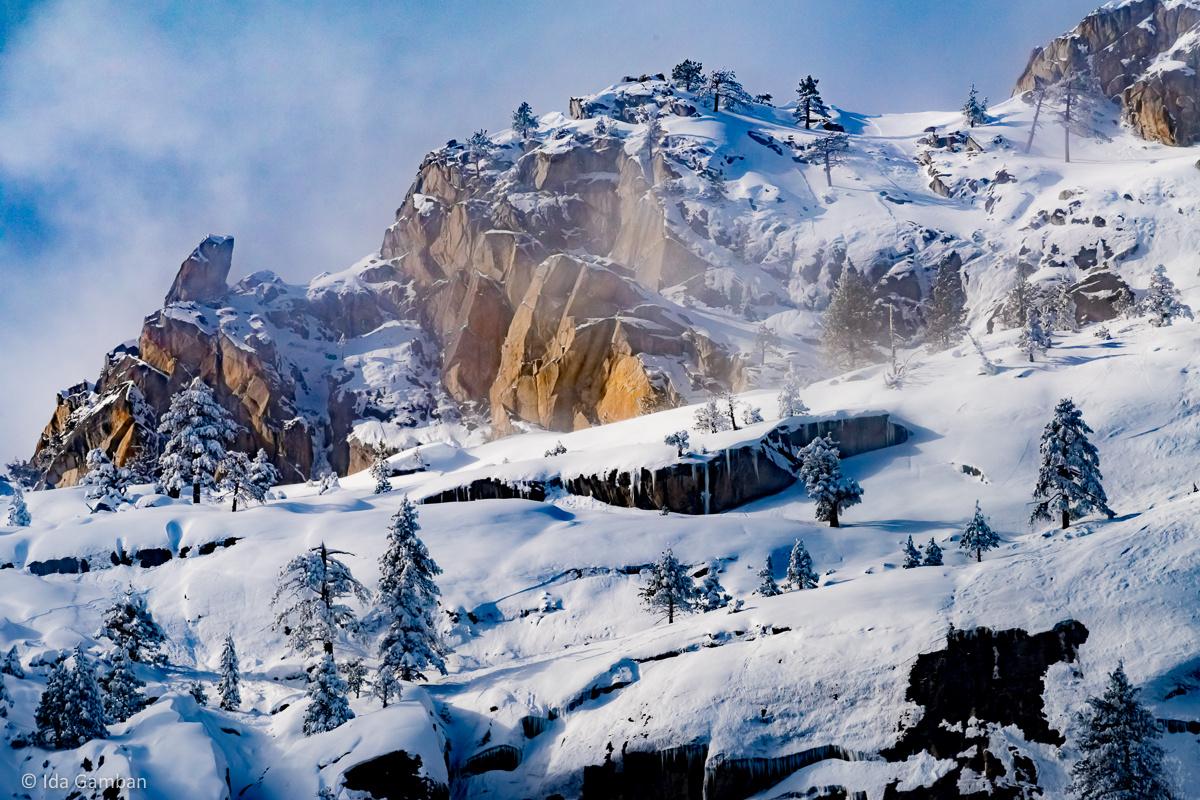 Alpine Mist   Yosemite National Park, CA by Ida Gamban