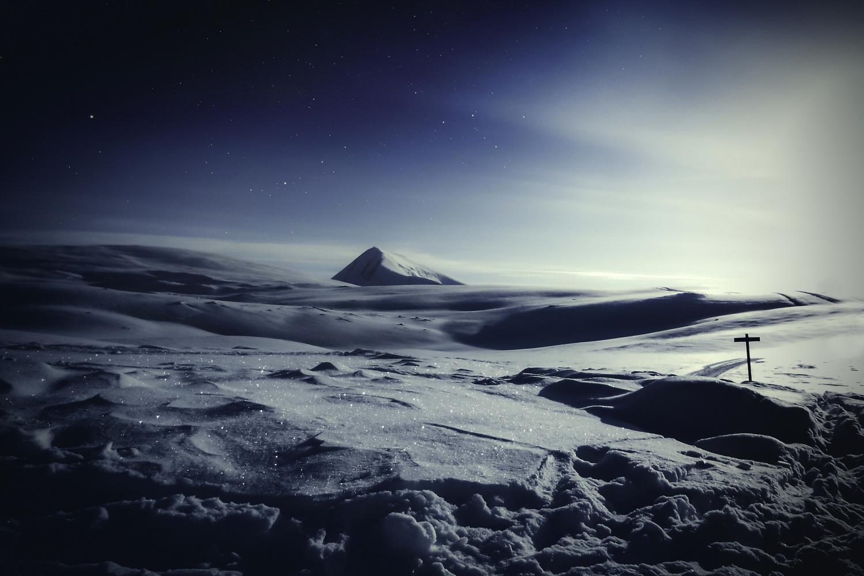 Moonlight in Northern Norway by Zoltan Tot