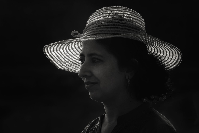 Beauty with Hat by Niteen Kasle