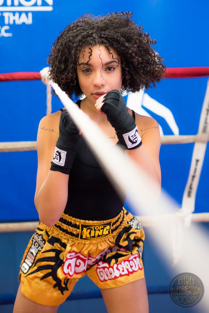 Daysha - Boxing Rope Drill by Jeff Buenaventura