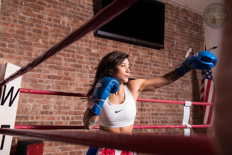 Jena - She's a knockout by Jeff Buenaventura