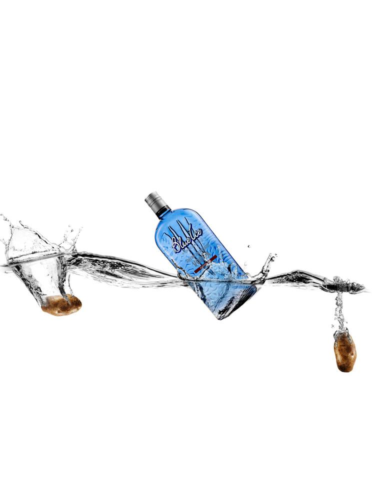 Blue Ice Vodka by Will Deleon