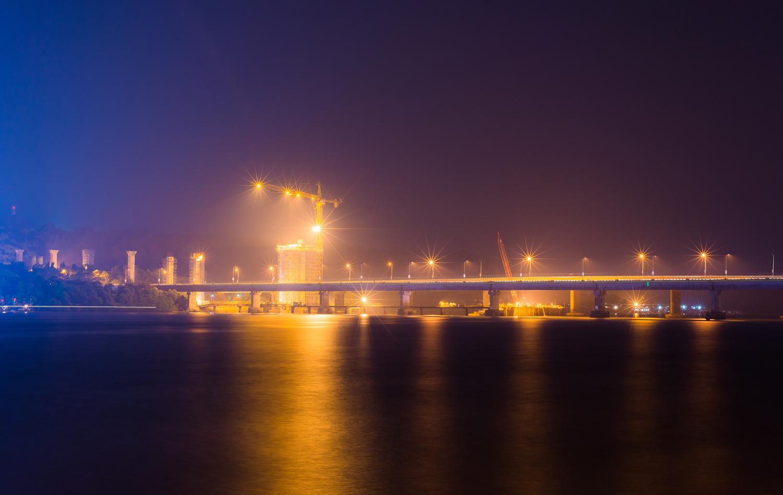 Bridge Under Construction by Abhishek S Padmanabhan