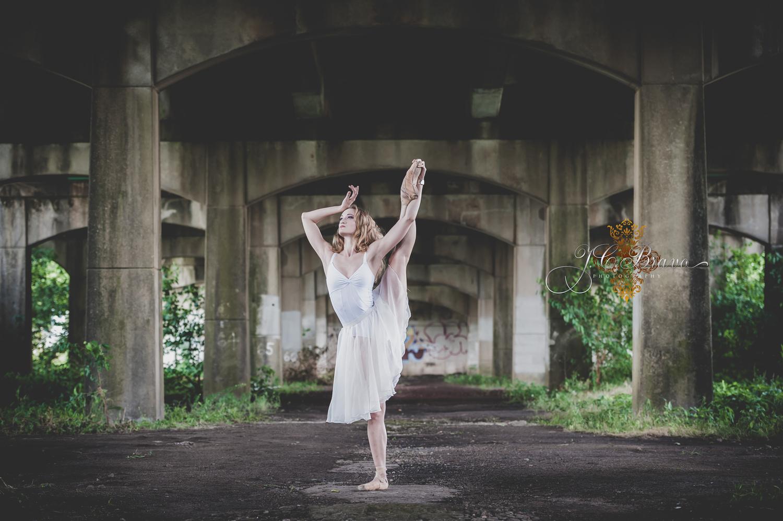 Urban Ballerina by JC Bravo