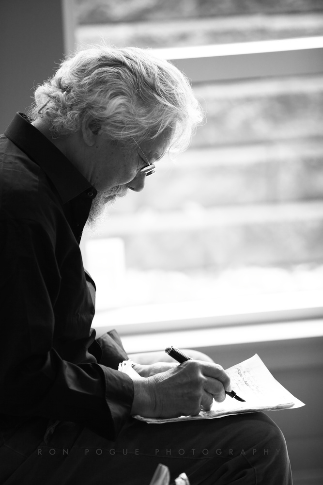 David Suzuki writes in green by Ron Pogue