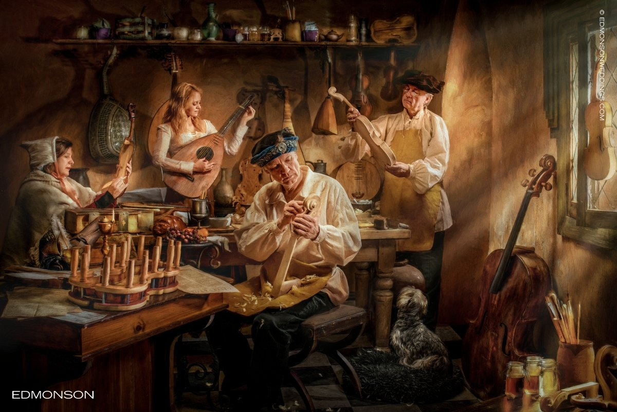 The Luthiers by Luke Edmonson