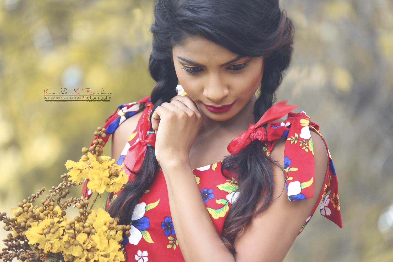Sri Lankan Shoot Girl by Kanishka K. Bandara
