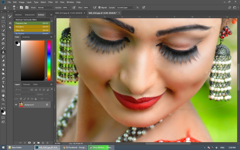sri lankan bride photoshop editing  by Kanishka K. Bandara