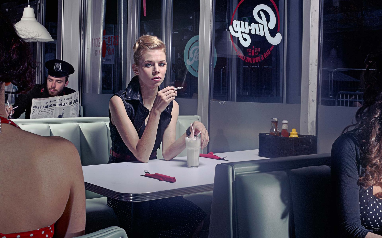 Diner by Paul Parker