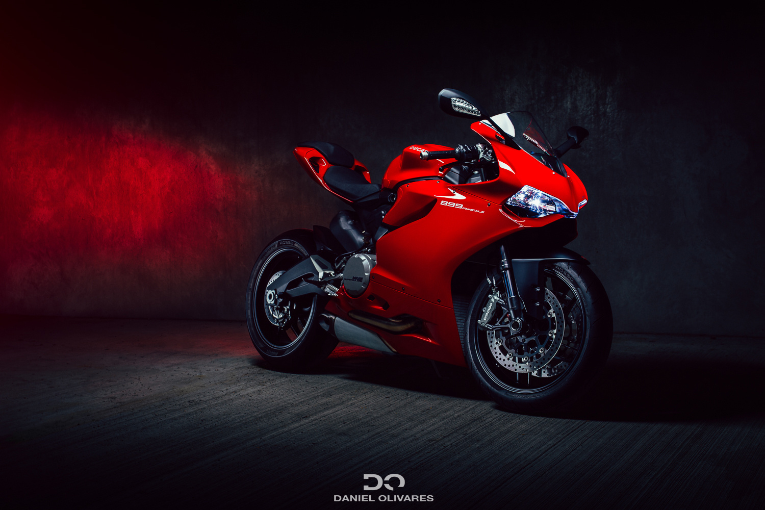 Ducati 899 Panigale  by Daniel Olivares