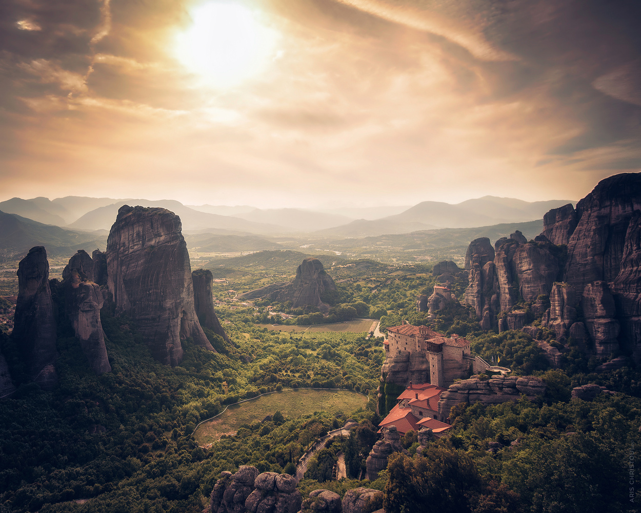 Meteora | Greece by Aris Christou