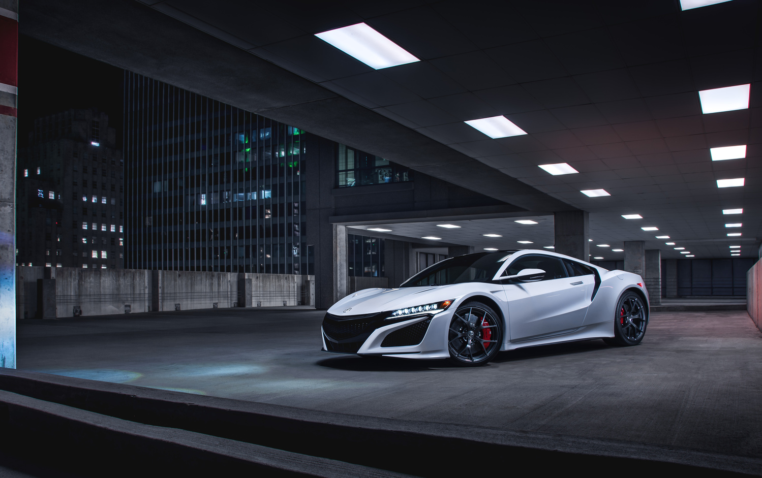 NSX hero shot by Jimmy Zhang