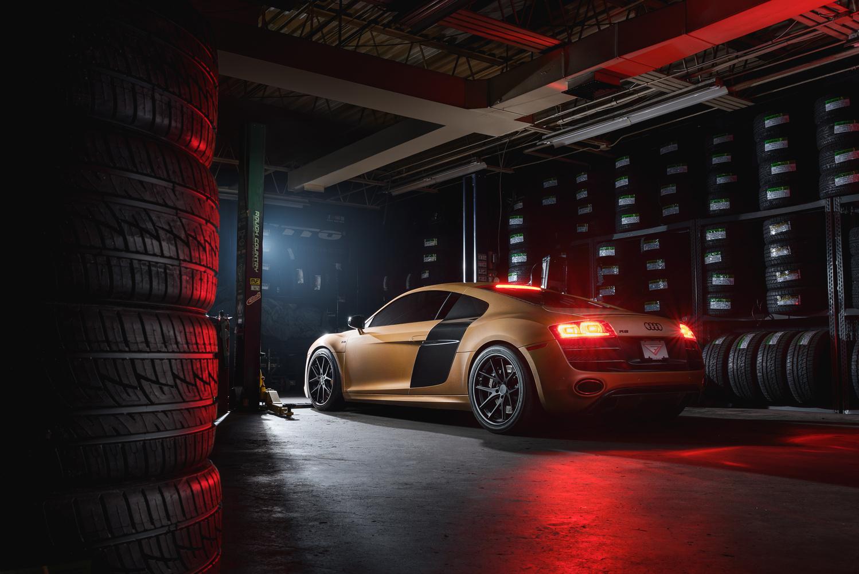 Ferrada Audi R8 by Jimmy Zhang