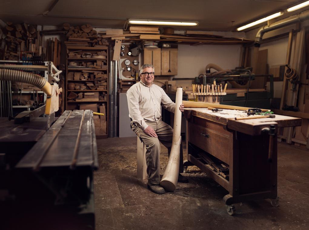Craftsman: Alphorn by Peter Hanne
