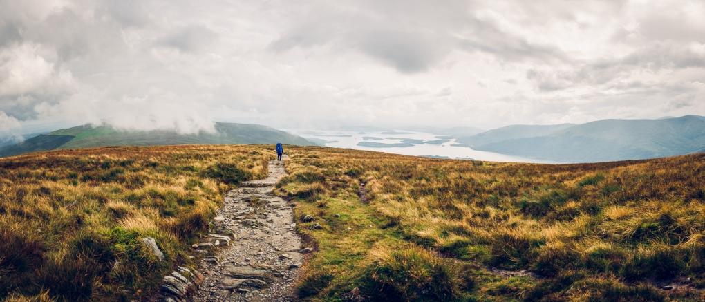 Ben Lomond, Scotland by Peter Hanne