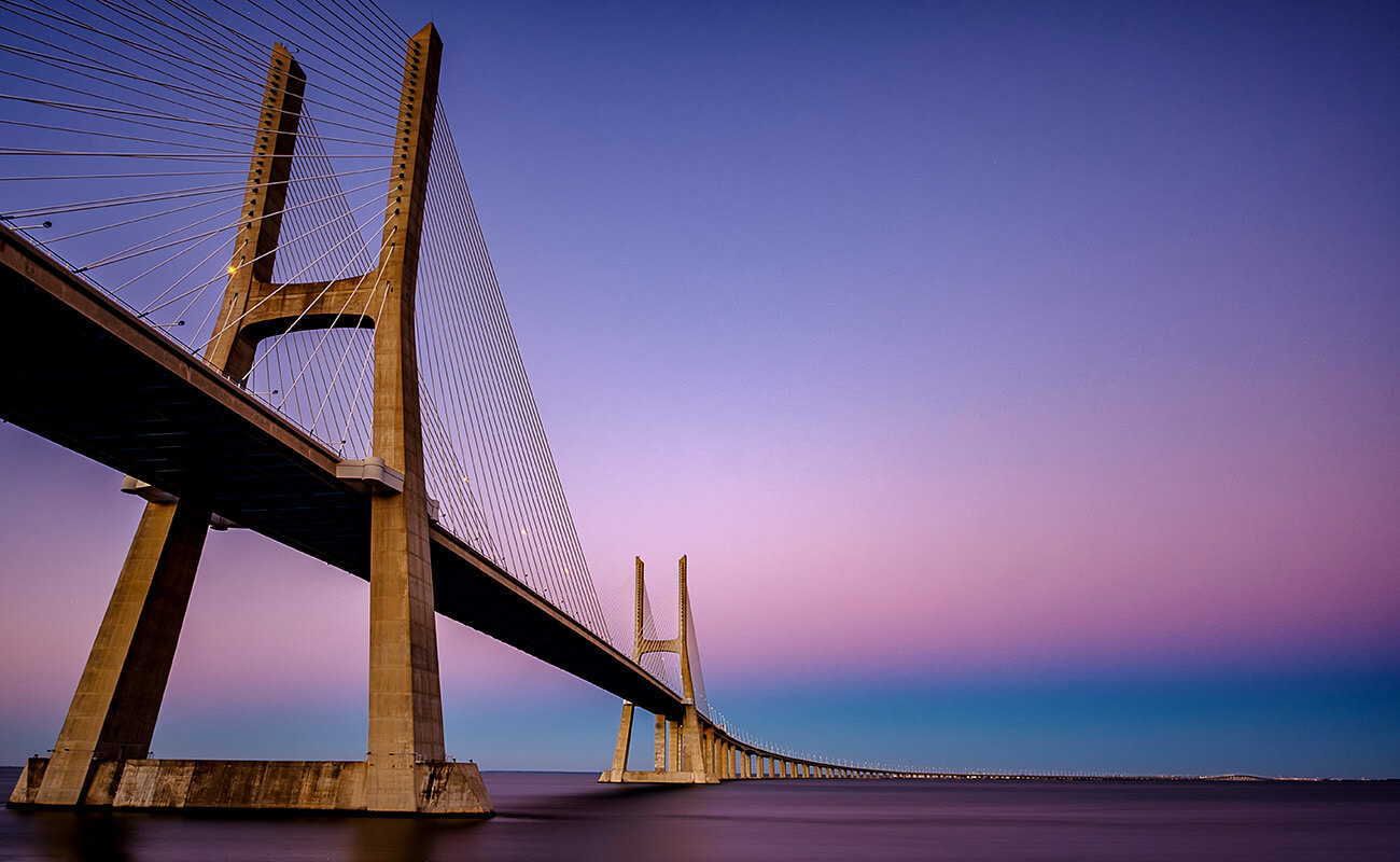 Vasco Da Gama Bridge by Stephen Vincent-Grace