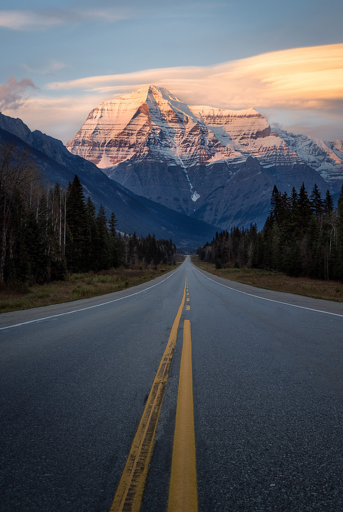 Road to Robson by Stephen Vincent-Grace