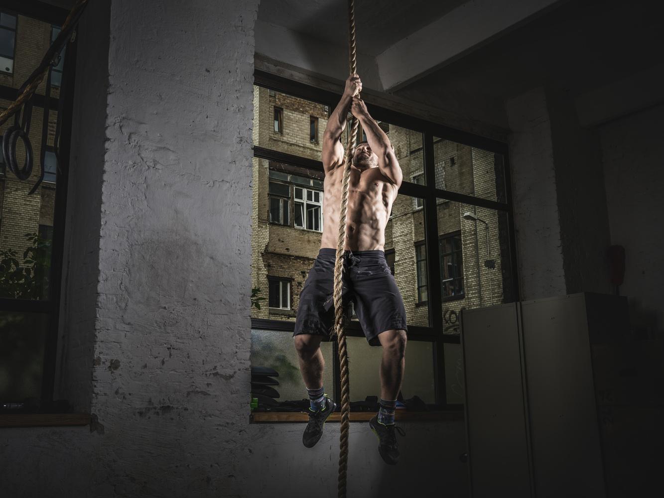 Rope Climb by Moritz Ullrich