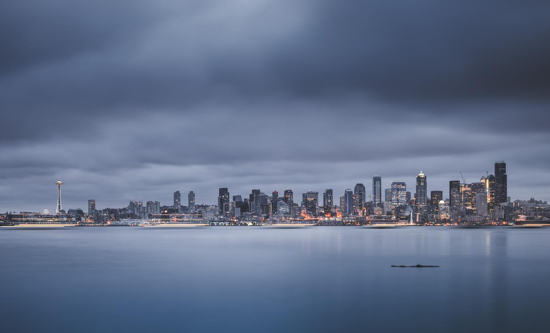 Seattle Awaking by Bogdan Tishchenko
