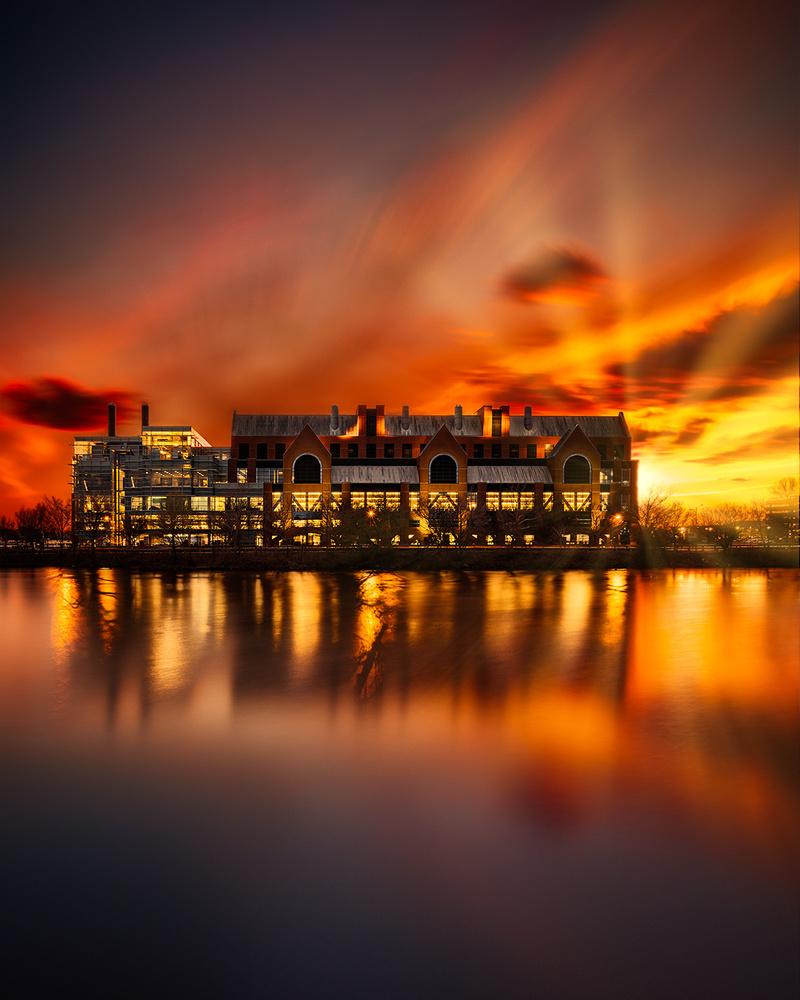 Boston Charles River by Stas F