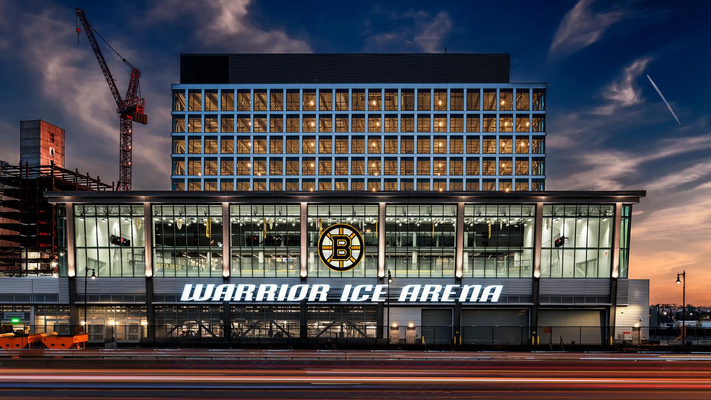 Bruins Warrior Ice Arena - Boston by Stas F
