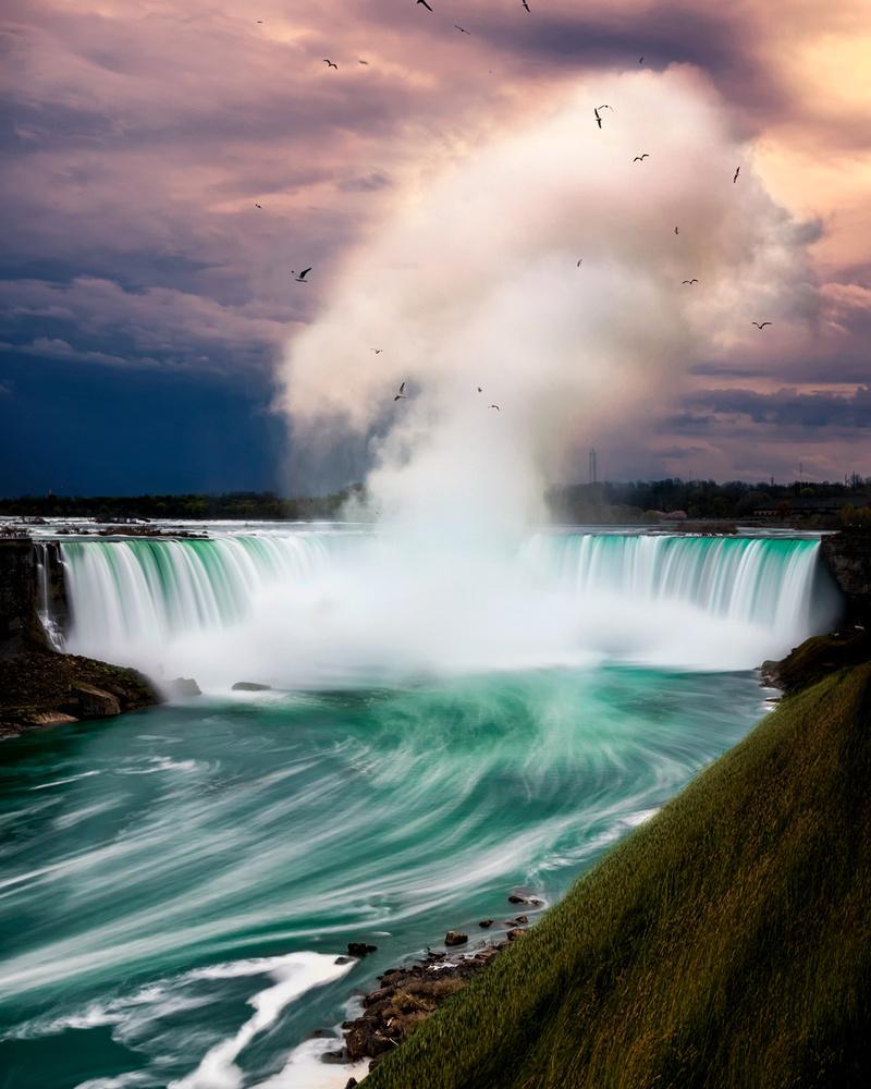 Niagara Falls, Canada by Stas F