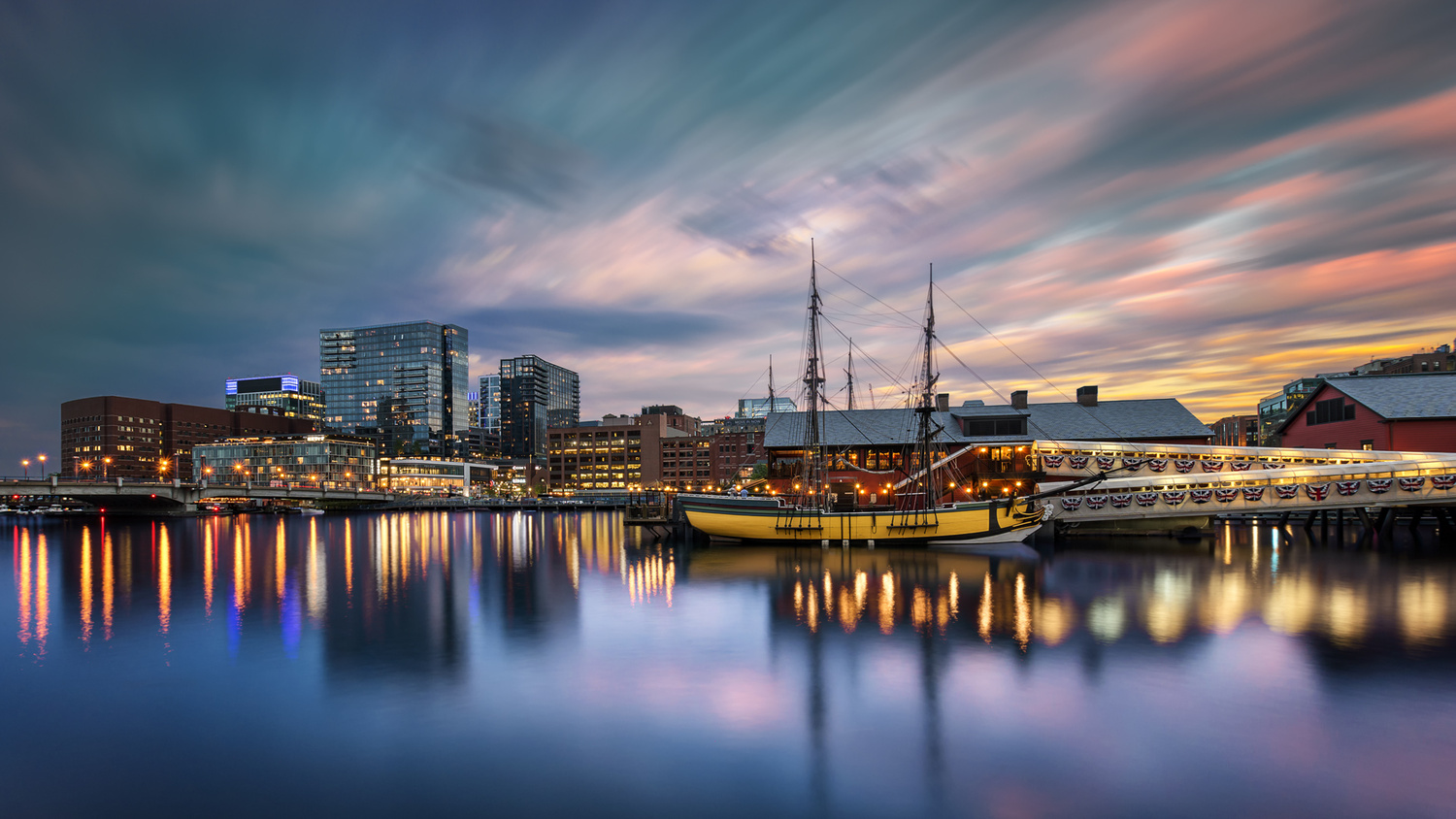 Boston Tea Party by Stas F