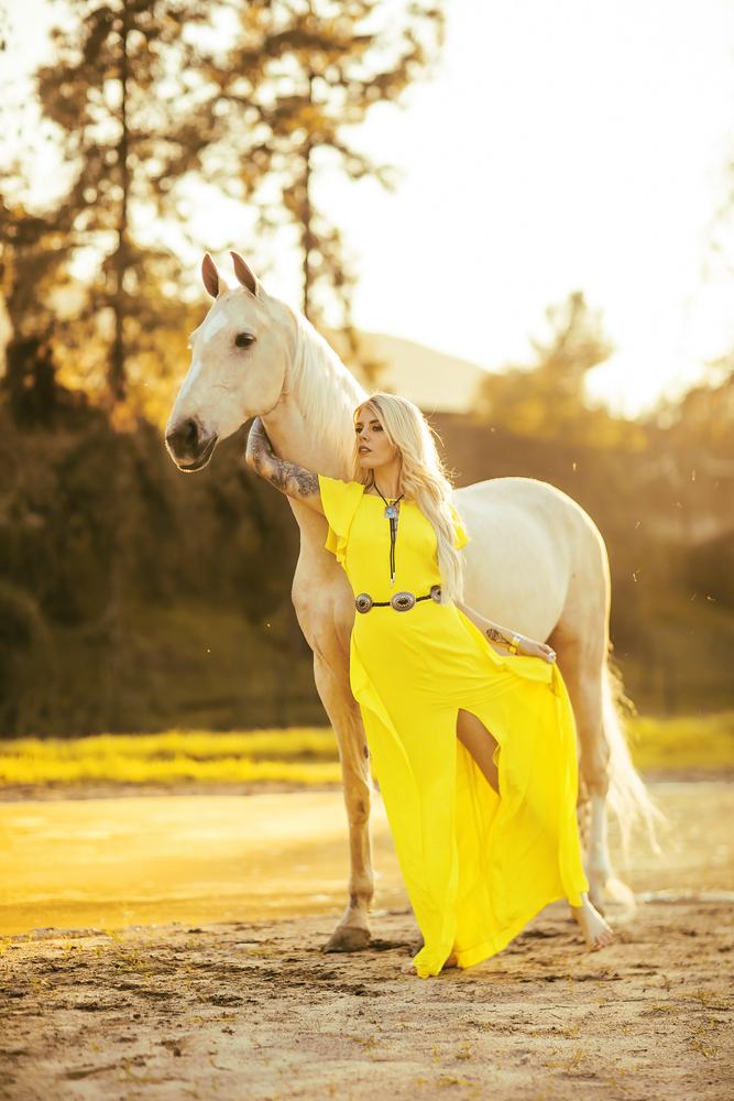 Yellow by Mykel Leddel