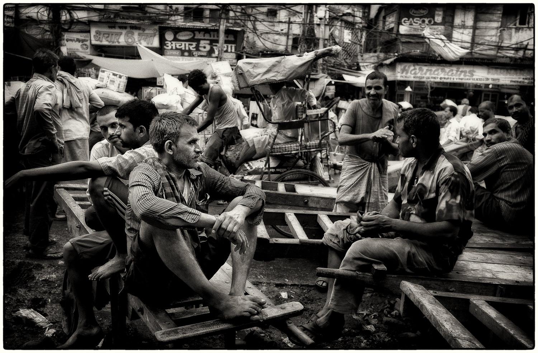 Old Town, Delhi by Hamish Scott-Brown