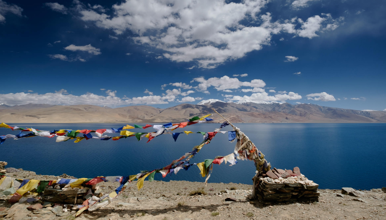 Tso Moriri Lake, Ladakh by Hamish Scott-Brown