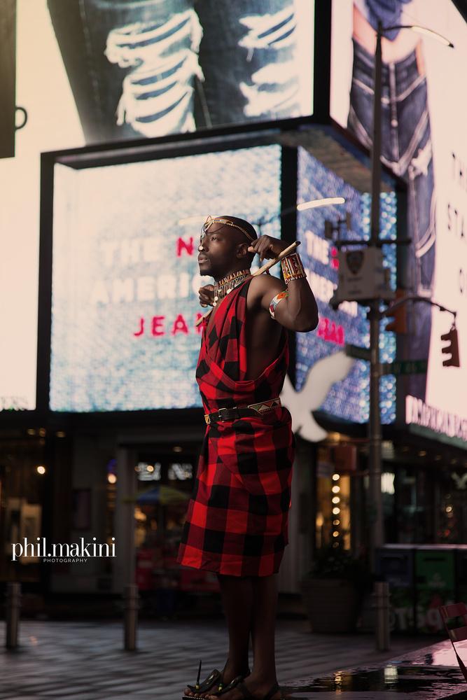 The Maasai of Kenya by Phil Makini