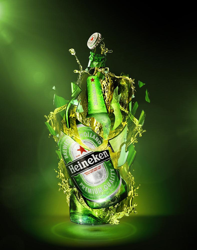 Heineken Explosion by David Butler